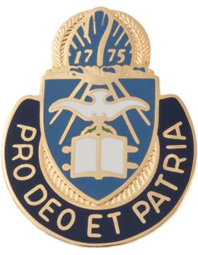Regimental Crest Chaplain (Pro Deo Et Patria)