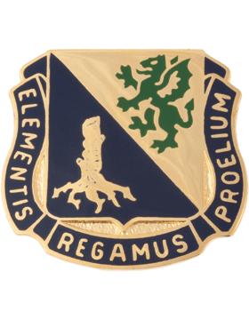Regimental Crest Chemical (Elementis Regamus Proelium)