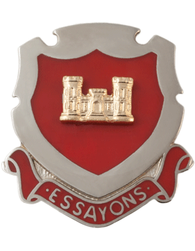 Regimental Crest Engineer (Essayons)