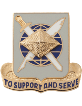 Regimental Crest Finance (To Support and Serve)