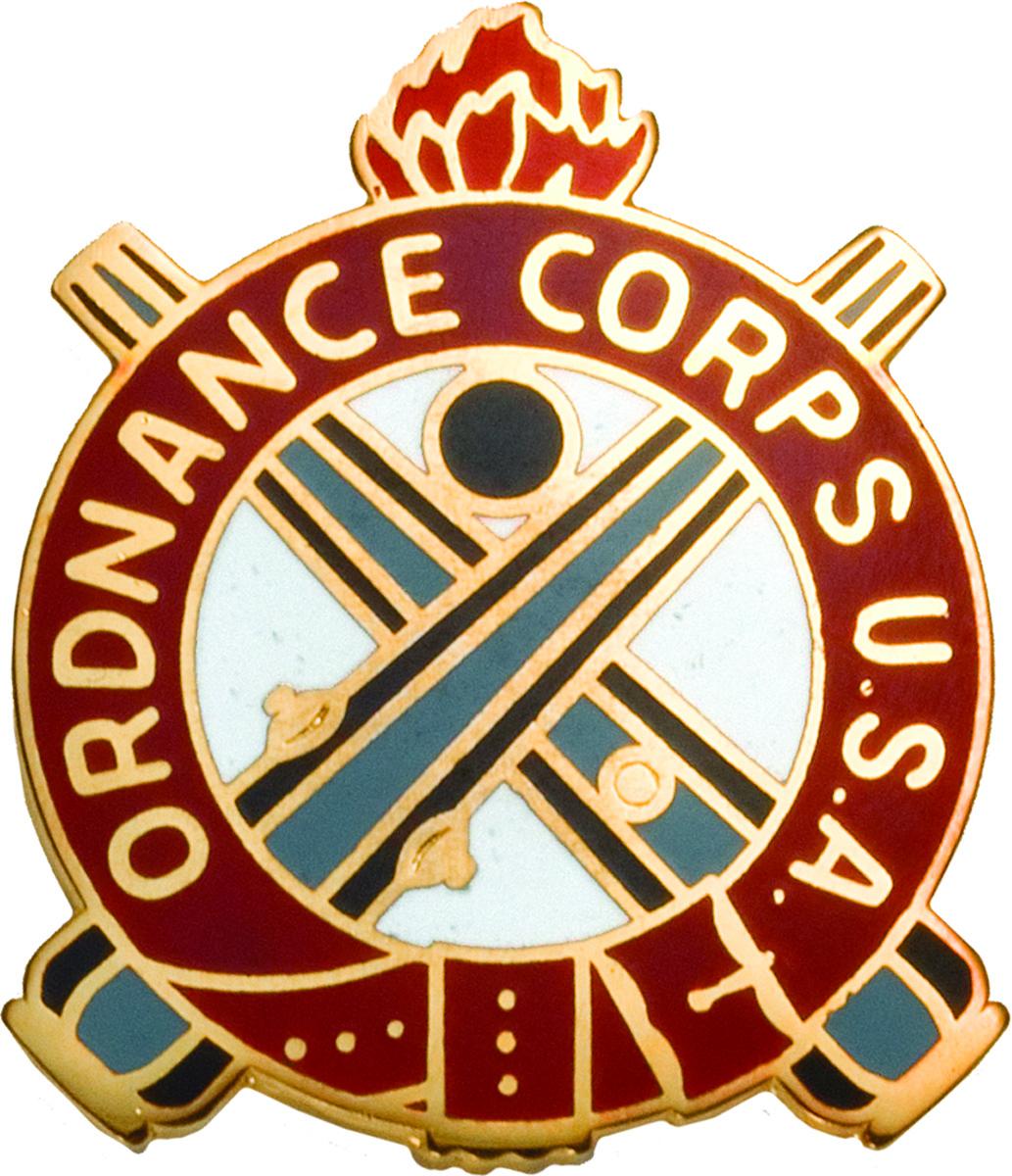 Regimental Crest Ordnance Ordnance Corps U S A Us