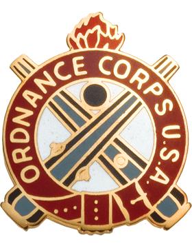 Regimental Crest Ordnance (Ordnance Corps U.S.A.)