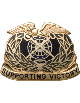 Regimental Crest Quartermaster (Supporting Victory)