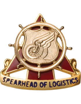 Regimental Crest Transportation (Spearhead of Logistics)