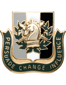 Regimental Crest Psychological Operations (Persuade Change Influence)