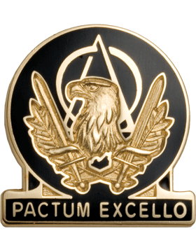 Regimental Crest Acquisition Corps Regt (Pactum Excello)