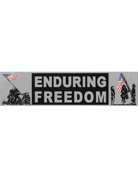 D16 Enduring Freedom Bumper Sticker