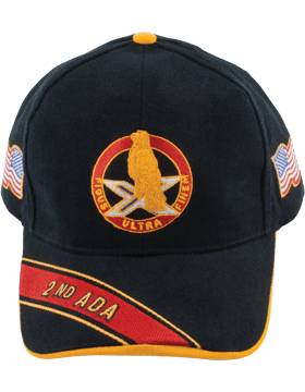 Deluxe Army Cap with 2nd Air Defense Artillery Crest