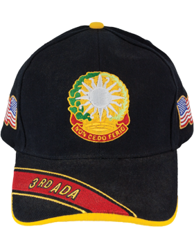 Deluxe Army Cap with 3rd Air Defense Artillery Crest small
