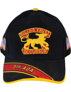 Deluxe Army Cap with 7th Air Defense Artillery Crest