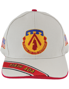 Cap (DC-ADA/DUI-0138A/S) Stone with 138 Air Defense Artillery Crest