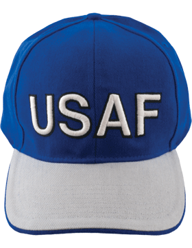 Cap Royal Blue with U.S. Air Force (3D) DC-AF/003A