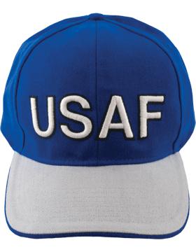 Cap Royal Blue with U.S. Air Force (3D) DC-AF/003A