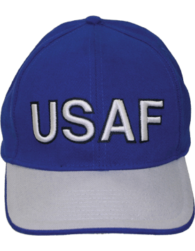 Cap Royal Blue and Gray with U.S. Air Force (3D) DC-AF/006A