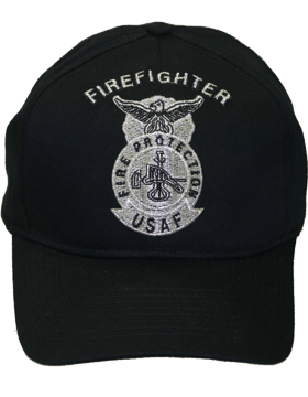 Cap Black and Gray with Fire Protection Metallic DC-AF/500A