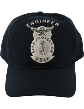 Cap Black and Gray with One Bugle Metallic DC-AF/501