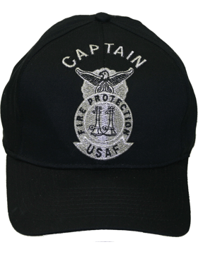 Cap Black and Gray with 2 Bugles Parallel Metallic DC-AF/502A