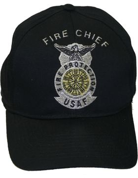 Cap Black and Gray with 5 Bugles Crossed Metallic DC-AF/506A