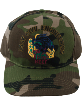 Cap Camo with Prime Beef Subdued DC-AF/509/C