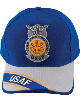 Cap Royal Blue and Gray with Three Bugles Badge (3D) DC-AF/813