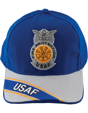 Cap Royal Blue and Gray with Four Bugles Badge (3D) DC-AF/814