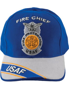 Cap Royal and Gray with Five Bugles Badge (3D) with Lettering DC-AF/815A