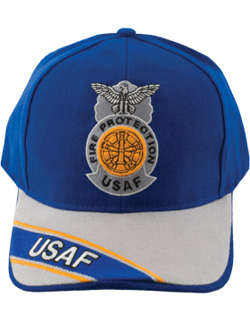 Cap Royal Blue and Gray with Five Bugles Badge (3D) DC-AF/815