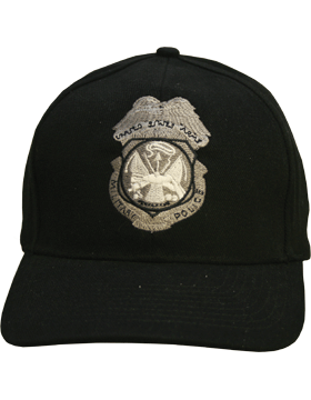 Cap (DC-AR/802) Black with Military Police Badge