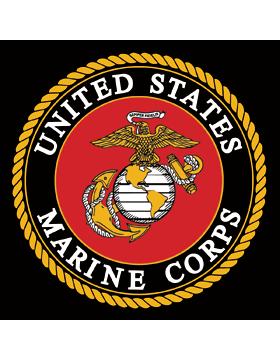 DECAL-MC-001, USMC Emblem, 4.25in x 5.25in