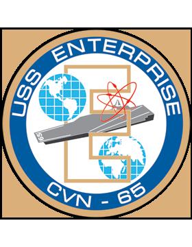 Aircraft Carrier USS Enterprise CVN-65 Coat of Arms Decal