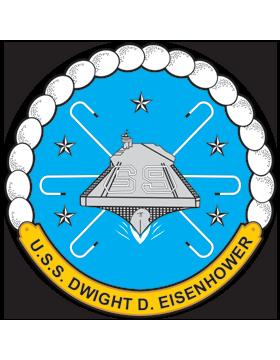 Aircraft Carrier USS Dwight D. Eisenhower CVN-69 Coat of Arms Decal