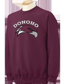 Donoho Falcons Maroon Crewneck Sweatshirt 18000