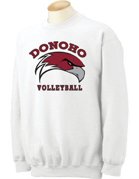 Donoho Volleyball Crewneck Sweatshirt