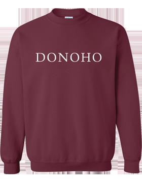 Donoho Maroon Crewneck Sweatshirt 18000