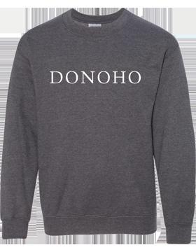 Donoho Dark Heather Crewneck Sweatshirt 18000