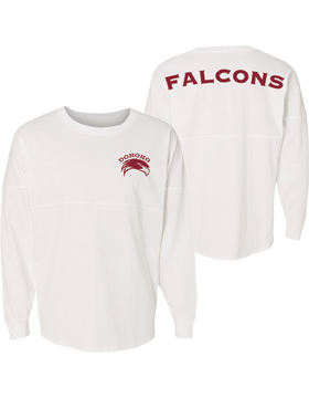 Donoho Falcons J. America Game Day Long Sleeve Jersey 8229