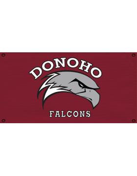 Donoho Falcons Banner