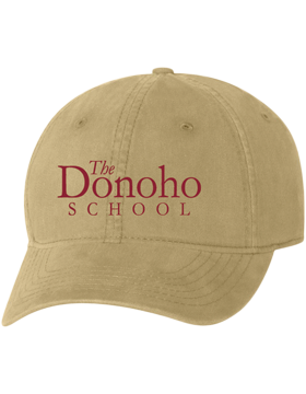 Donoho School Falcons Football Cap