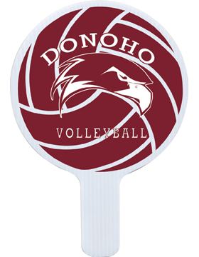 Donoho Volleyball Hand Fan
