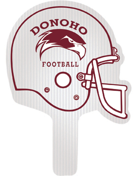 Donoho Football Helmet Hand Fan