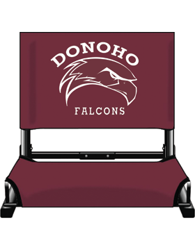 Donoho Falcons Canvas Stadium Chair