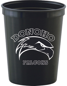 Donoho Falcons 22oz Stadium Cup