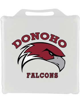 Donoho White Seat Cushion 14in Square