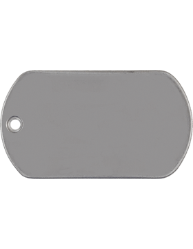 Blank Dog Tags (No Engraving)