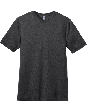 District-Young Mens Tri-Blend V-Neck Tee DT142V