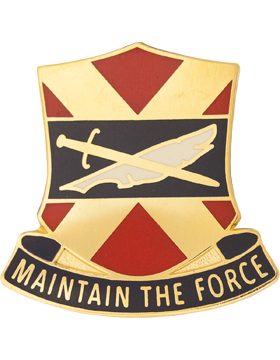 1146th Personnel Service Battalion Unit Crest (Maintain The Force)