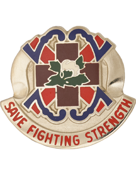 1200 Quartermaster Bn Unit Crest (Save Fighting Strength)