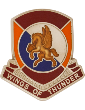 1204 Support Bn (Left) Unit Crest (Wings of Thunder)