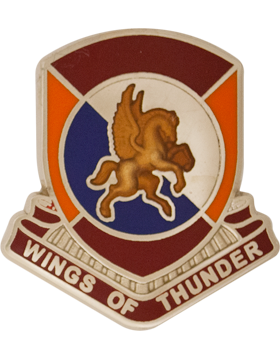 1204 Support Bn (Right) Unit Crest (Wings of Thunder)