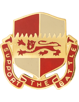 1297 Support Bn Unit Crest (Support The Battle)